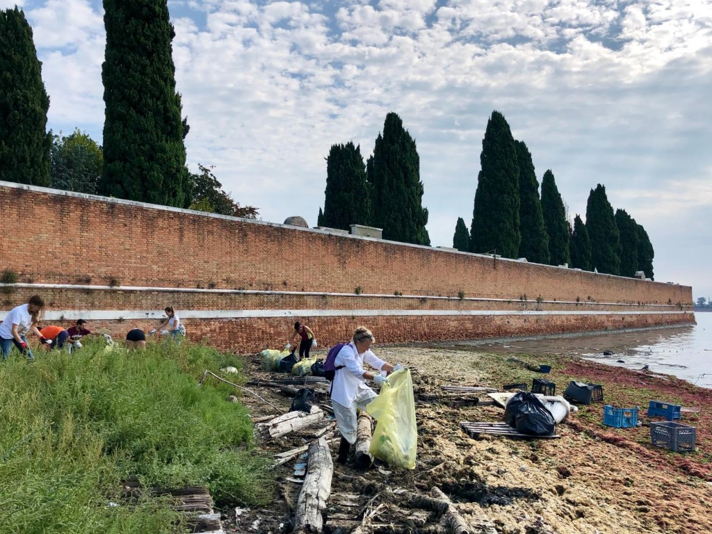 World Clean-up day 2018 in Venice