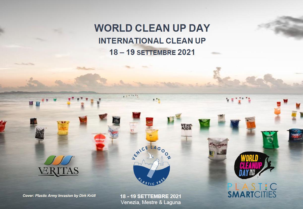 Torna la raccolta di rifiuti a Venezia: World Cleanup Day